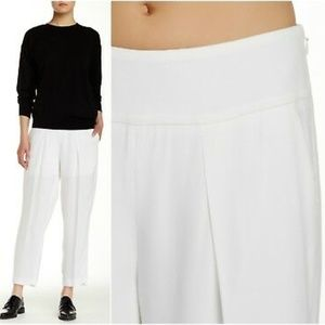 THEORY Bi-Stretchy Flare-Crop Leg
